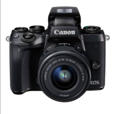 佳能/Canon EOS M5 套机(EF-M 15-45mm IS STM) 数字照相机